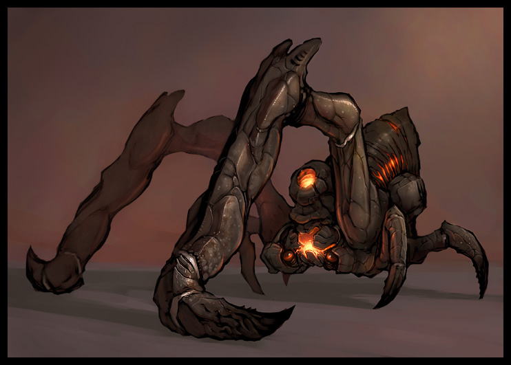 C.O.W. - #007: Creature feeding on lava - VOTING!!!