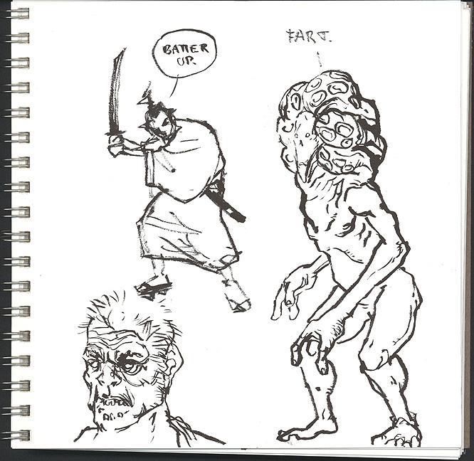 Dougbots Craptacula Sketchbook