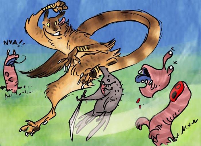 C.O.W. - #005: Symbiotic predators - VOTING!!!